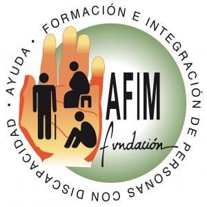 logo fundacion AFIM Ayuda Formación e Integración del Discapacitado