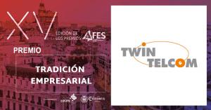 Premio AFES Tradicion Empresarial TwinTelcom