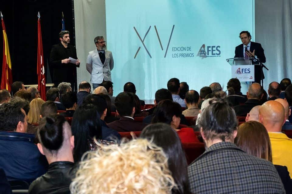 Acto presentación premios afes twintelcom