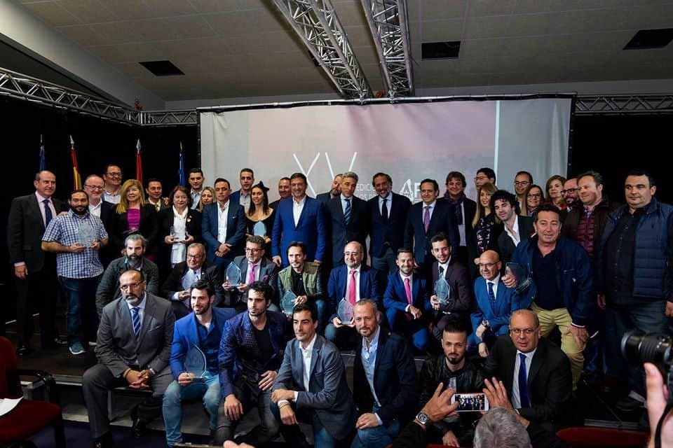 Premios AFES todos premiados twintelcom